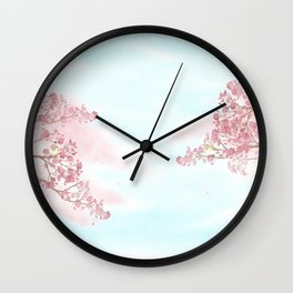 A day for cherry blossom | Miharu Shirahata Wall Clock