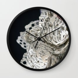 Emil and La Vie and Rose Wall Clock