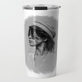 Camila Gray Sketch Travel Mug
