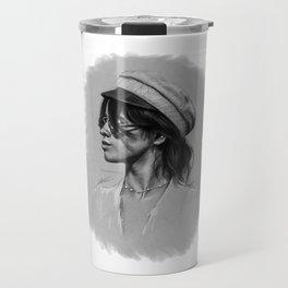 Camila Gray Sketch Travel Mug
