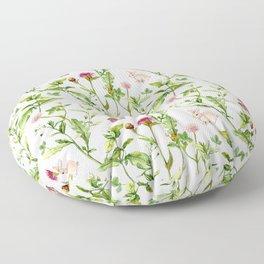 Easter Bunny Garden Floor Pillow