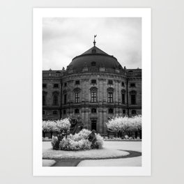 The Residenz Palace Art Print