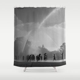 Summer splash celebration Shower Curtain