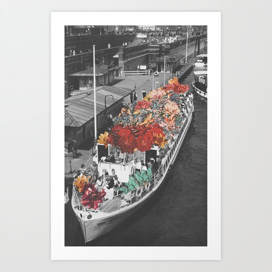 Imaginary Voyage Art Print
