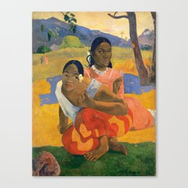 Affordable Art $300,000,000 When Will You Marry by Paul Gauguin Canvas Print