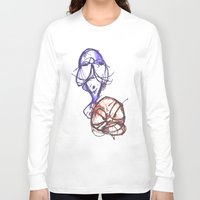 ying yang Long Sleeve T-shirts featuring Ying & Yang by Nerve