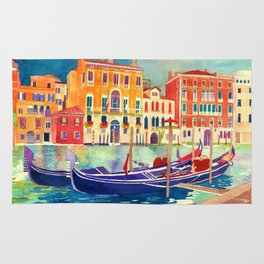 sunshine in Venezia Rug