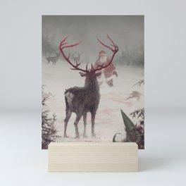 Rudolph uprising Mini Art Print