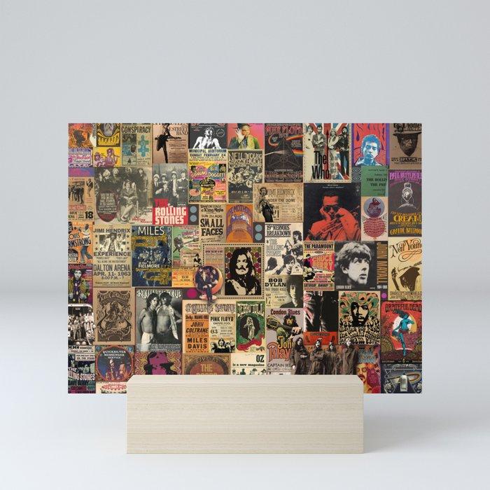 Rock'n Roll Stories Mini Art Print