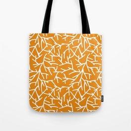 Branches - Orange Tote Bag