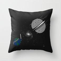 Asteroid Ninja Throw Pillow