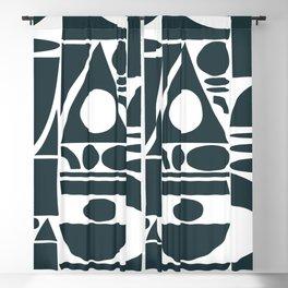 shape collage Blackout Curtain