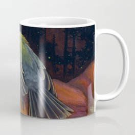 Halloween bird titmouse Coffee Mug