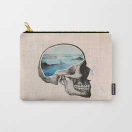 Brain Waves Carry-All Pouch