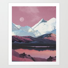 Bruised Landscape Art Print
