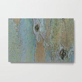 Eucalyptus Gum Tree Bark Metal Print