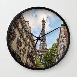 Hello, Paris Wall Clock