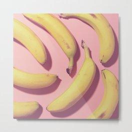 #01#Bananas together Metal Print