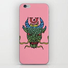 Trippy Chinese Dragon iPhone Skin