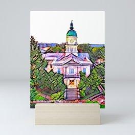 Athens, Georgia Skyline Mini Art Print