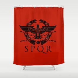 SPQR Hemblem Shower Curtain