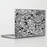 faces Laptop & iPad Skins featuring Faces by studiom6