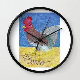 El Gallo by Riendo Wall Clock