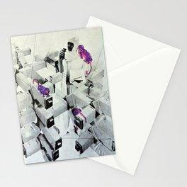 Purple Monkeys Stationery Cards
