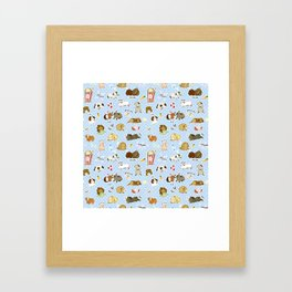 Guinea Pig Party! - Cavy Cuddles and Rodent Romance Framed Art Print