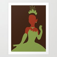 Tiana - Princess and the Frog Art Print