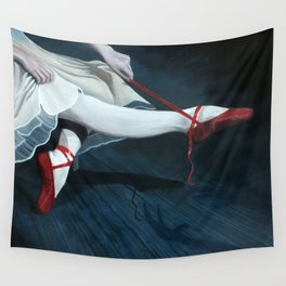 The Red Shoes Wall Tapestry