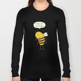 confused bee Long Sleeve T-shirt