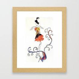 Fashion Sketch 6. Summer Fairy 2 Framed Art Print