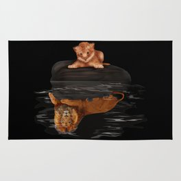 Cute Little Baby Simba lion iPhone 4 4s 5 5s 5c, ipod, ipad, pillow case and tshirt Rug
