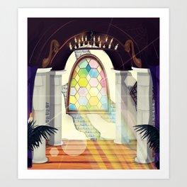 Christian Church Art Print