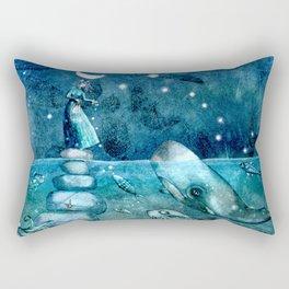 deep nourishment Rectangular Pillow