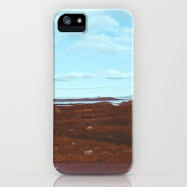 Norwegian National Park Landscape Shot on Film iPhone Case