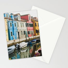 Burano in winter III Stationery Cards