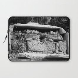very old grave Laptop Sleeve