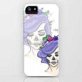 Catrina Love iPhone Case