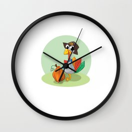 Mommy and Daddy are Thankful for Me Thanksgiving T-Shirt Wall Clock