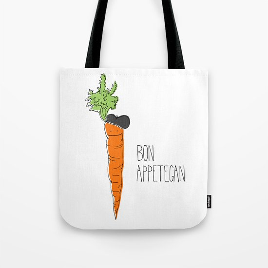 Bon Appetegan - Vegan Cooking Tote Bag
