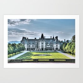The Bilmore Estate Art Print