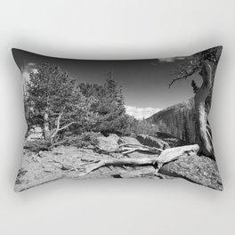 The Loch, Rocky Mountain national park Rectangular Pillow