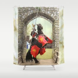 Knight Of The Round Table Shower Curtain