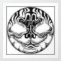 circular face Art Print