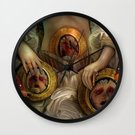 """""""Doll house Belly"""" Wall Clock"""