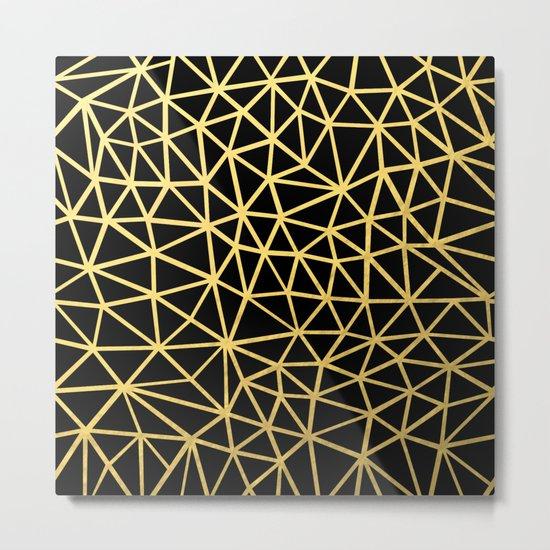 Broken Gold Metal Print