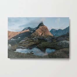 Romsdalshorn - Landscape and Nature Photography Metal Print