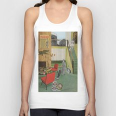(Acting Like) Some Kind Of Fifties Housewife I Unisex Tank Top